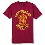 Men's Harry Potter Gryffindor Quidditch Team T-Shirt