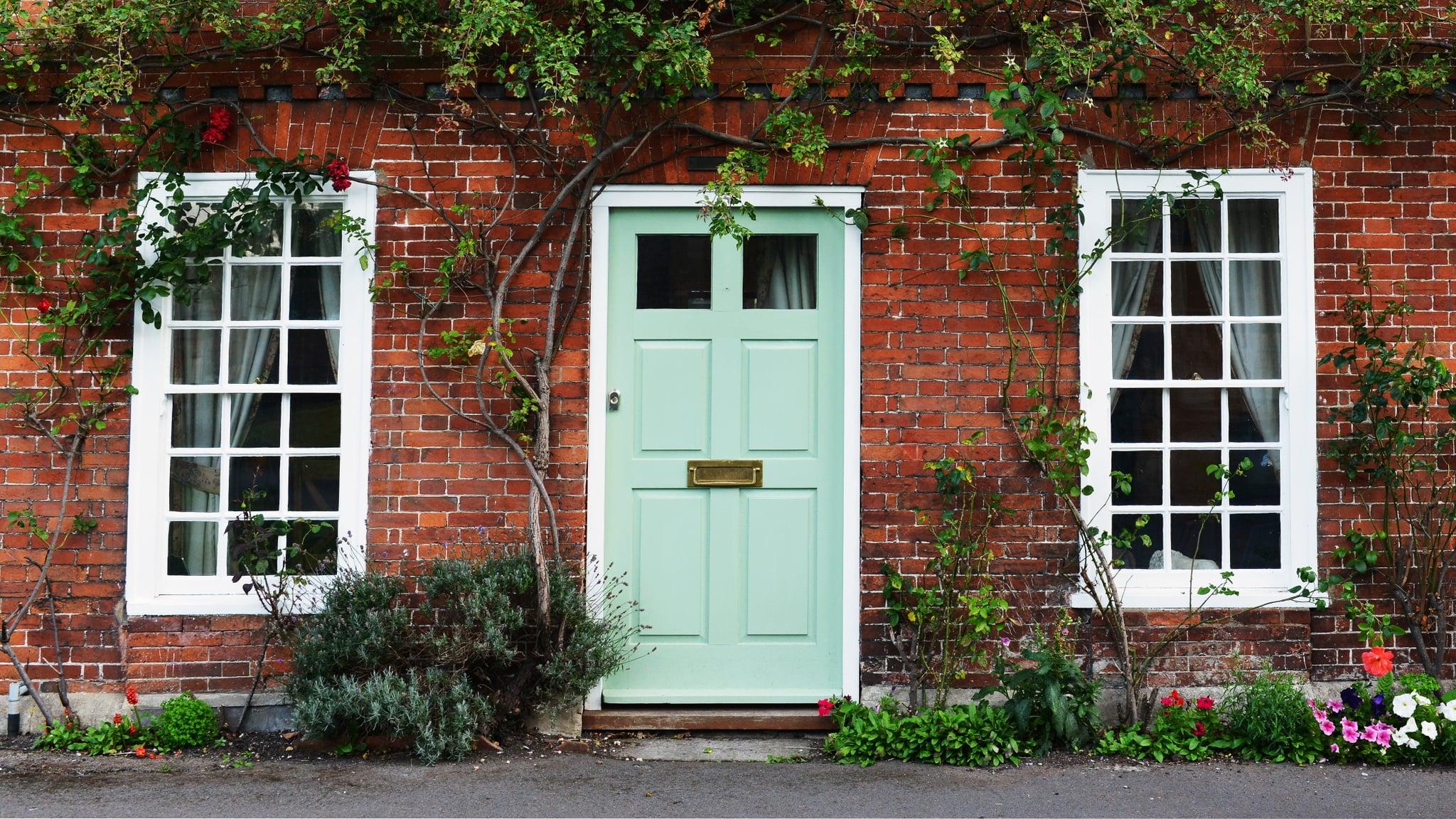front door curb appealFrontDoor Color Inspiration  POPSUGAR Home