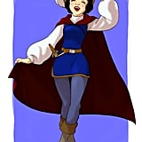 Cross-Dressing Snow White