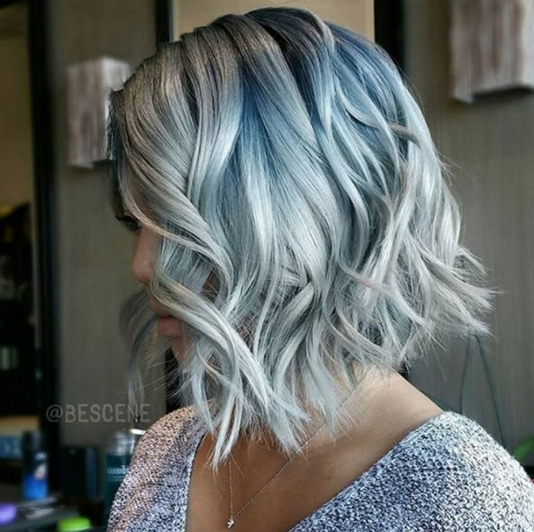 Denim Hair Colour Trend