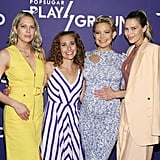 Pictured: Erin Foster, Lisa Sugar, Kate Hudson, and Sara Foster
