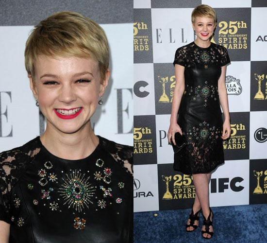 Carey Mulligan at 2010 Independent Spirit Awards 2010-03-06 17:45:21
