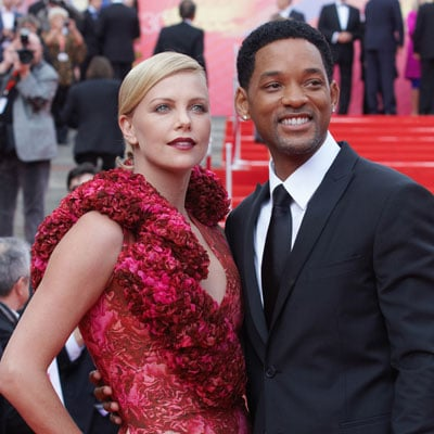 Charlize Theron and Will Smith Bring Hancock to Moscow
