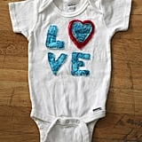 Love Collage Onesie