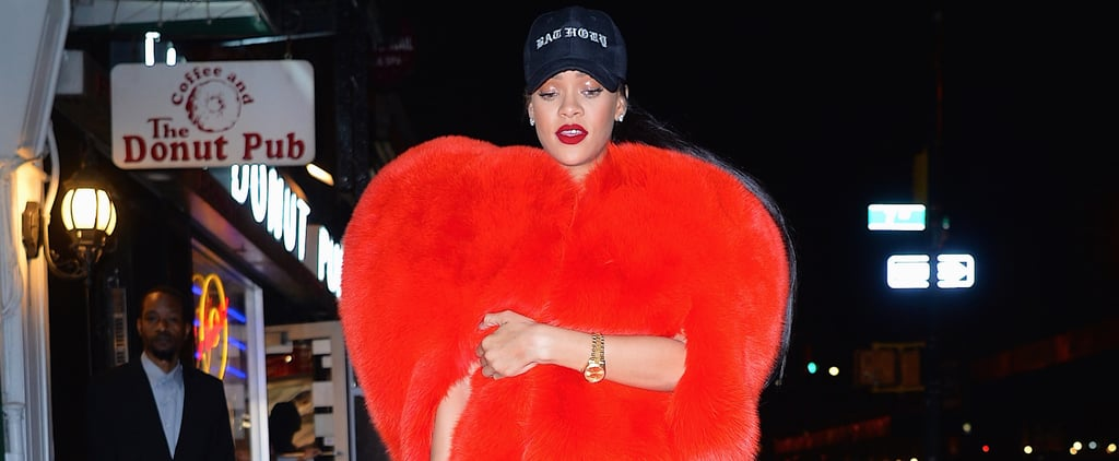 Rihanna Wears Her Heart on Her Sleeve After Sharing a Kiss With Drake on Stage
