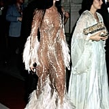 Kim Cited Cher as the Inspiration For Her Met Gala Dress