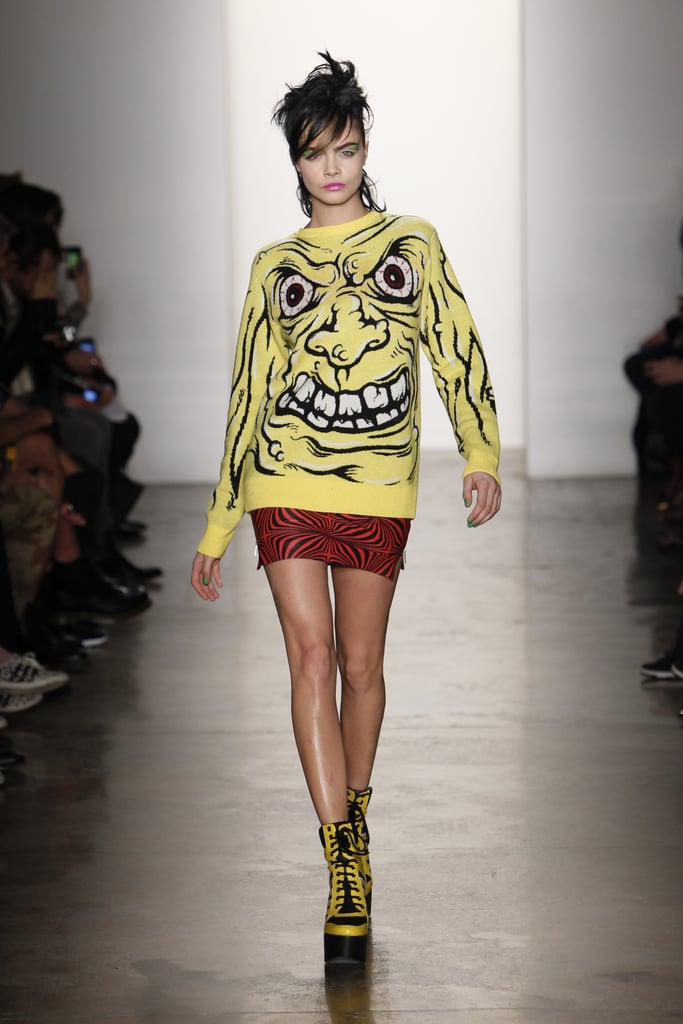 Cara Delevingne for Jeremy Scott, New York