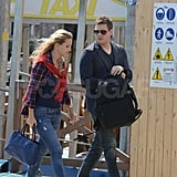 Michael Buble and Luisana Lopilato Honeymoon