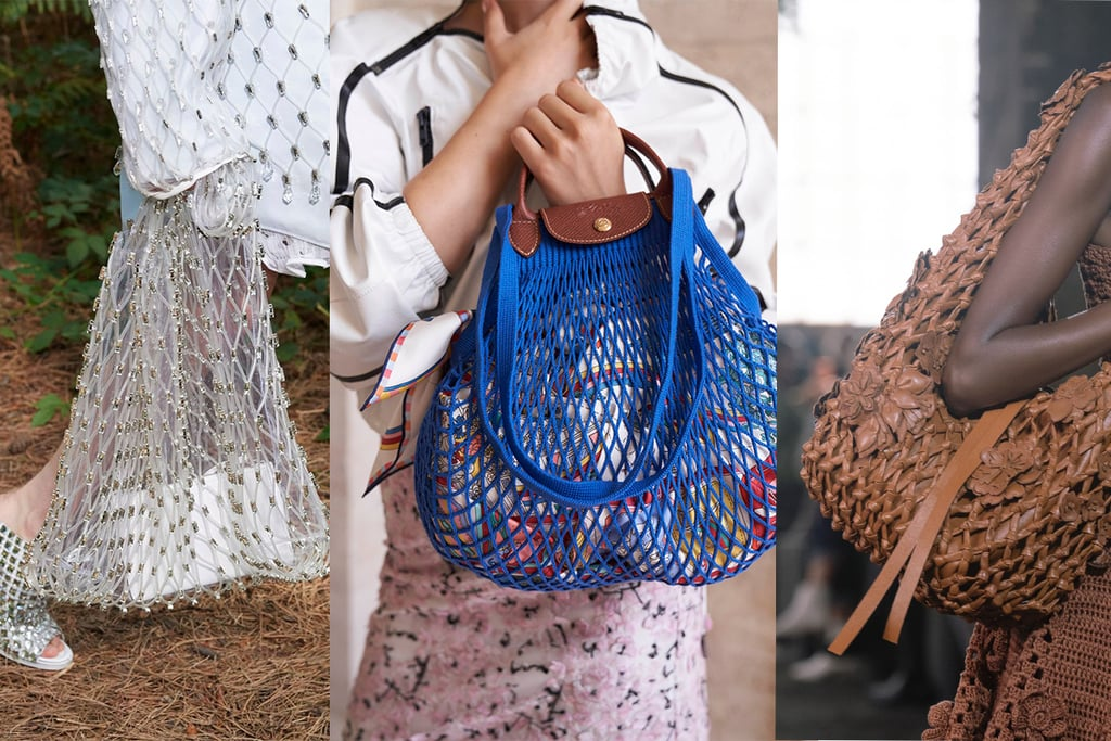Spring 2021 Bag Trend: Weave It Up! Straw, Nets, and Knits