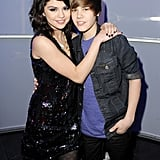 Selena Gomez and Justin Bieber in 2009
