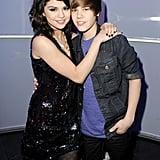 Selena Gomez and Justin Bieber in 2009