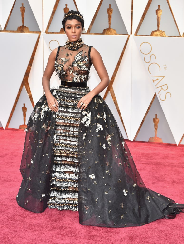 Fashion trendsetter 2017 - Janelle Monae S Oscars Dress 2017 Popsugar Fashion