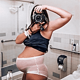 "Jayme Pierce, a mom and influencer, recently shared an empowering photo of her body after giving birth to her son Brody. ""Oh. My. Goodness. This is me right after I gave birth to Brody. That's right, POST-birth,"" she wrote. ""Whenever I doubt myself or feel bad about my postpartum body, I can look at these pictures and remind myself how badass I am. Mesh undies and all."""