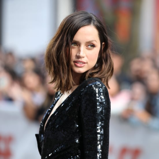 Ana de Armas Debuted New French Bob Haircut and Bangs