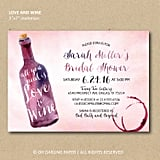 Printable Wine Invitations