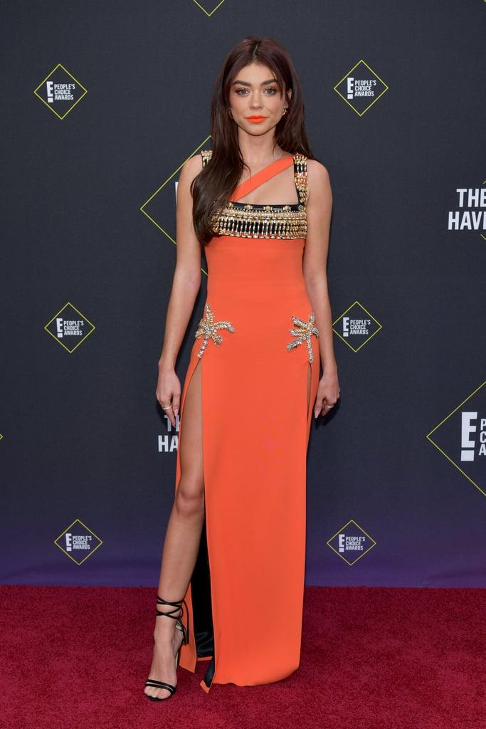 Sarah Hyland at the 2019 People's Choice Awards