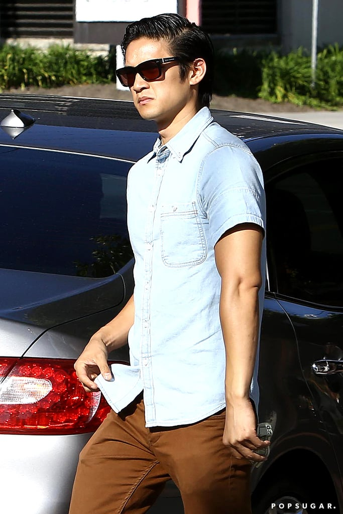 Harry Shum Jr. was among the cast members who attended the memorial celebration.
