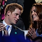 Prince Harry enjoyed his sister-in-law's company.