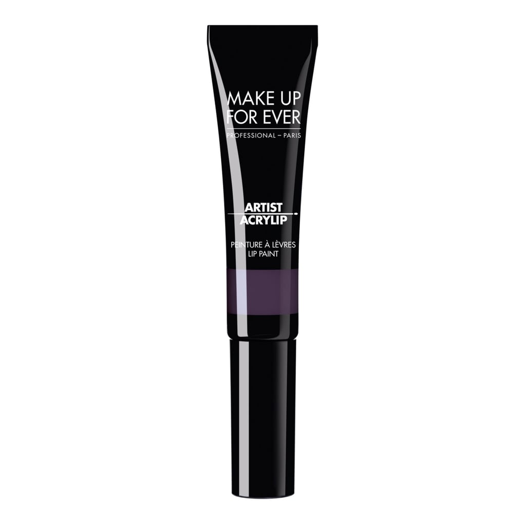 Make Up For Ever Acrylip in Dark Purple
