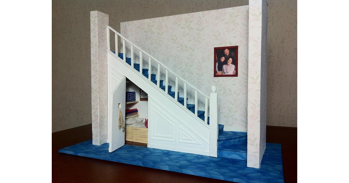 Harry Potter Cupboard Under The Stairs Paper Creations