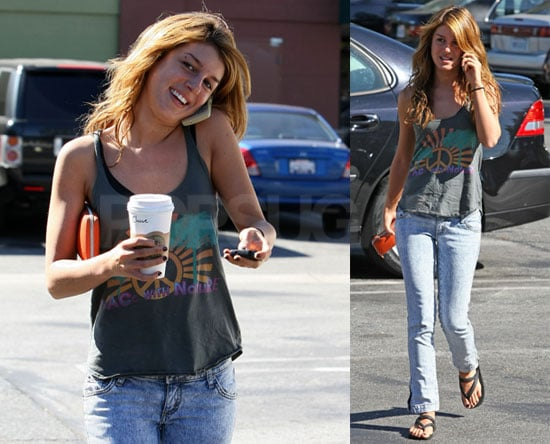 Photos of Shenae Grimes at Starbucks at Long Beach
