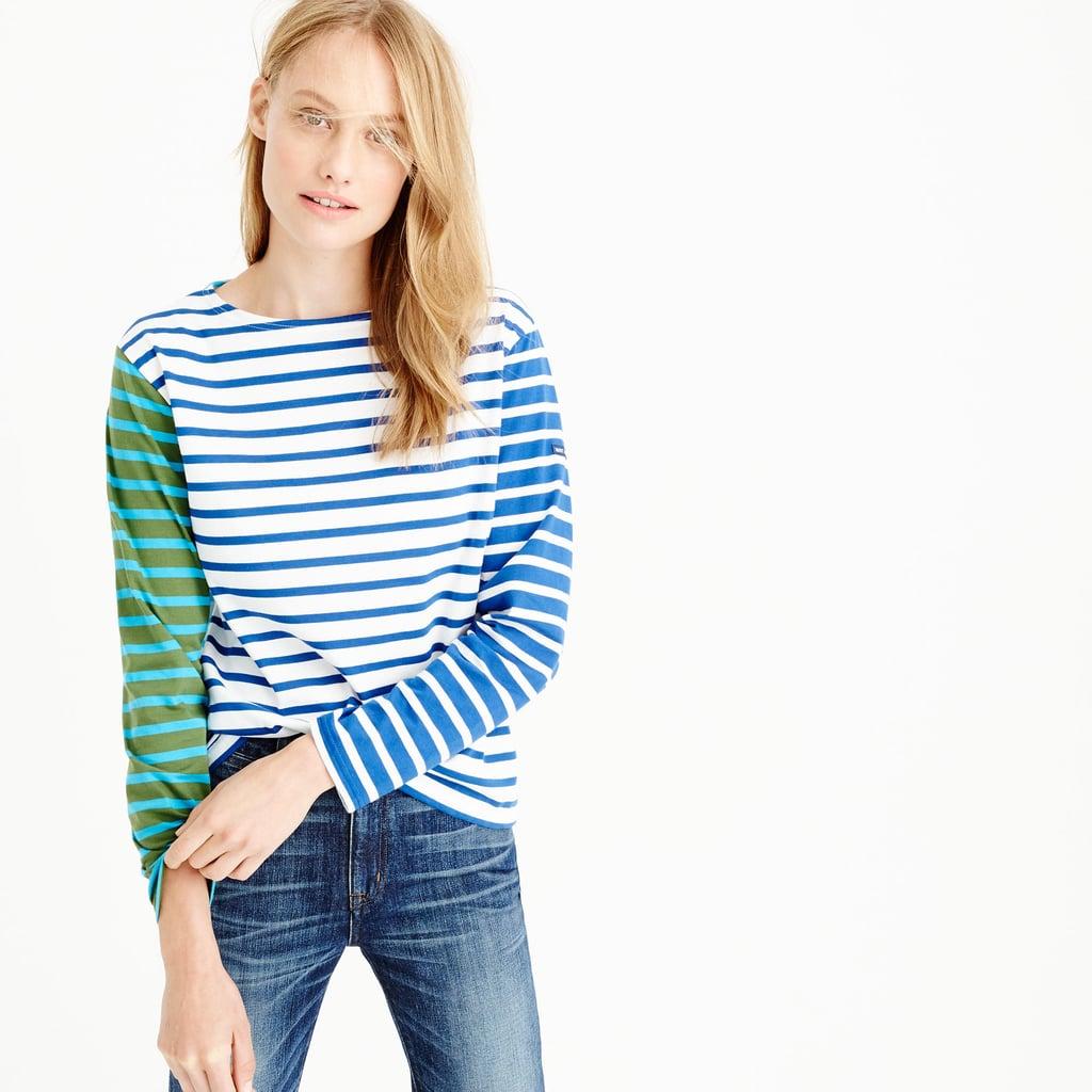 Preppy wardrobe essentials popsugar fashion for St james striped shirt
