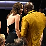 Alexis Bledel and Tituss Burgess