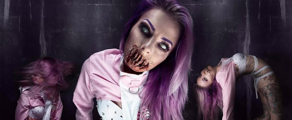 This Instagrammer's Terrifying Halloween Looks Are Guaranteed to Haunt Your Dreams