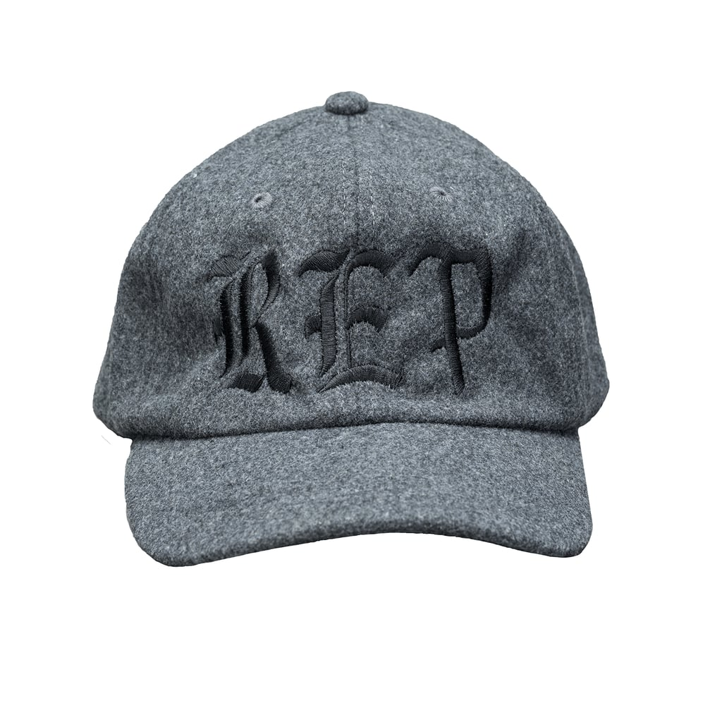 Embroidered Wool Hat