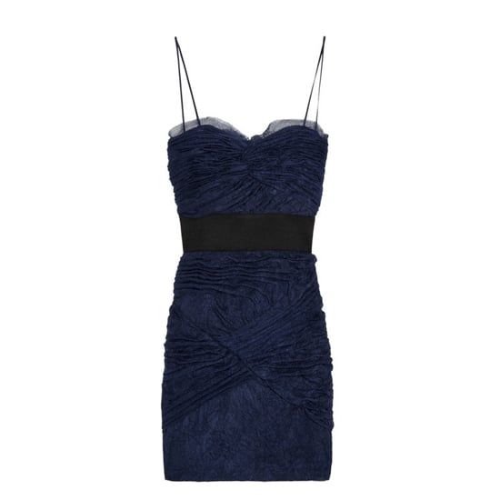 Foley + Corinna Ruched Tulle Dress, $410