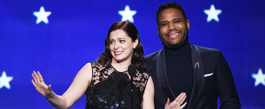 Rachel Bloom's T.J. Miller Joke at Critics' Choice Awards