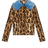 Shrimps Leopard-Print Faux-Fur Coat