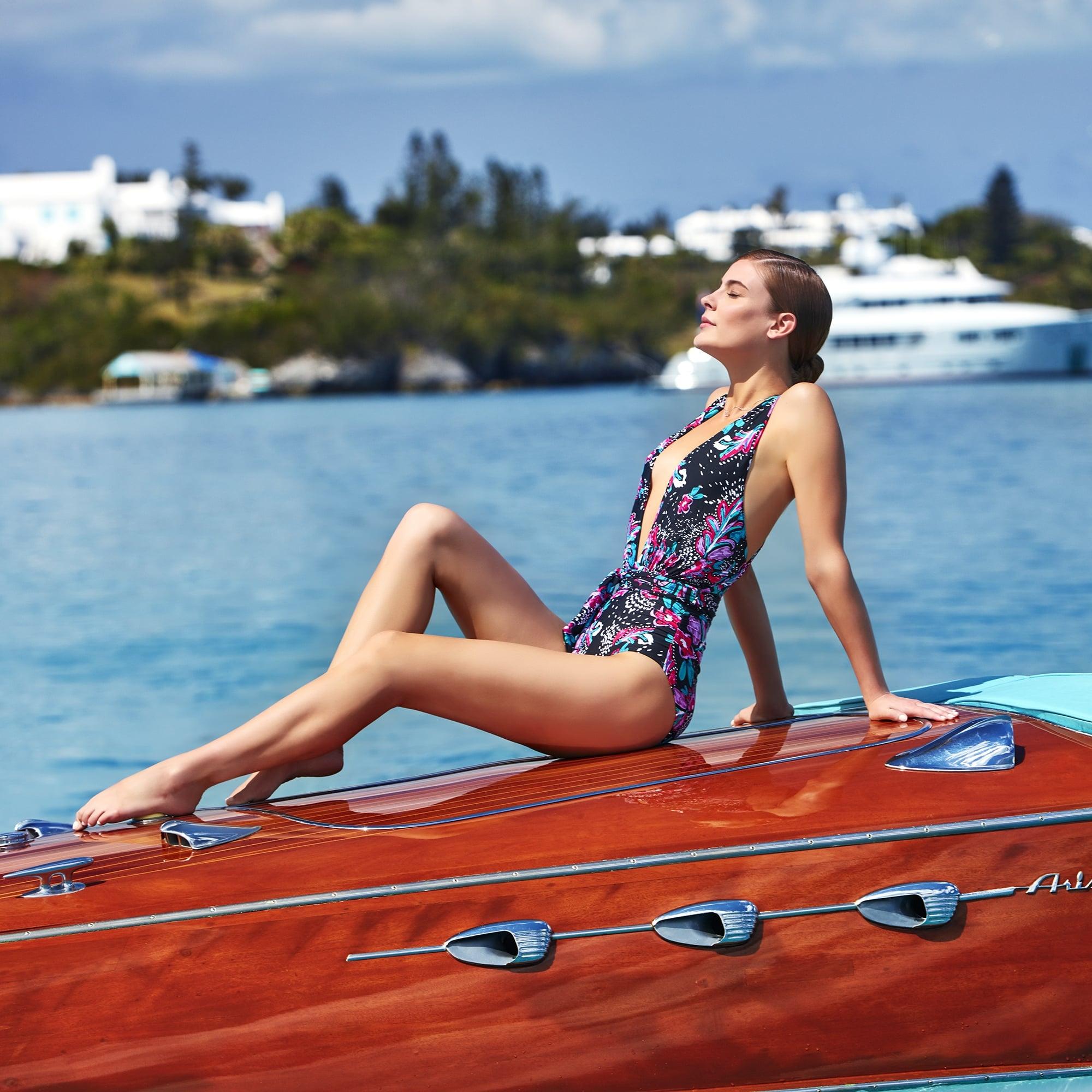 Best One-Piece Swimsuits From Walmart | POPSUGAR Fashion