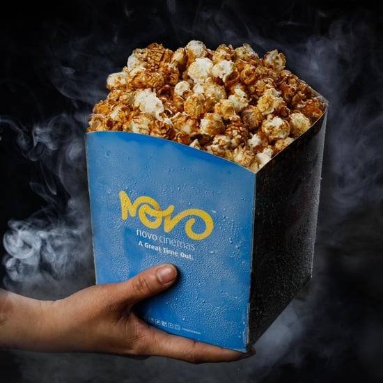 Frozen Popcorn at Novo Cinemas