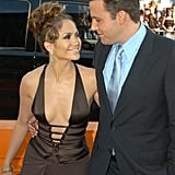 The two only had eyes for each other at the LA premiere of their movie Gigli in July 2003.