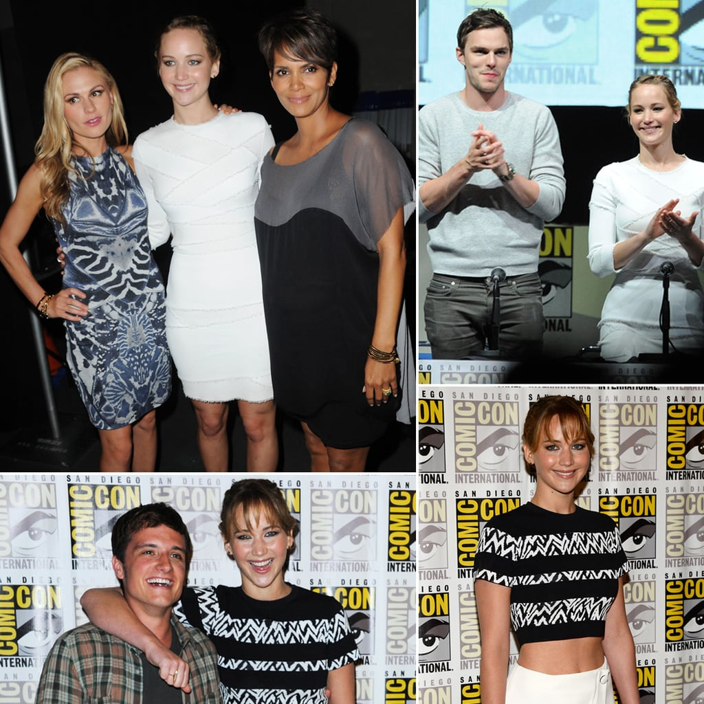 jennifer lawrence at comiccon 2013 pictures popsugar