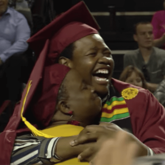 Video of Mom Graduating With Son After Missing Her Ceremony