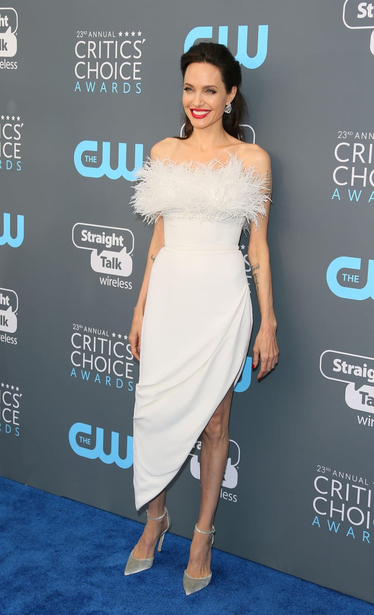 The White-Hot Trend Celebrities Wore at the Critics' Choice Awards