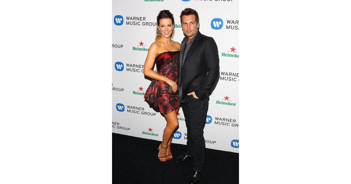 Wayfair Len kate beckinsale and len wiseman dropped by the warner