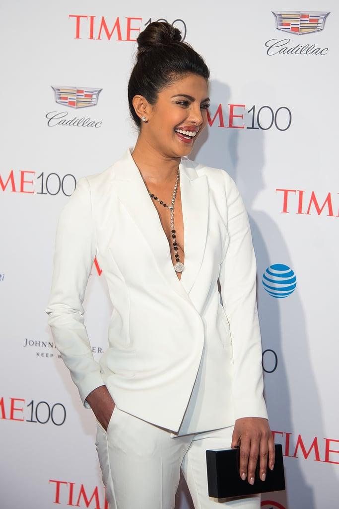 Priyanka Chopra's Suit at the Time 100 Gala