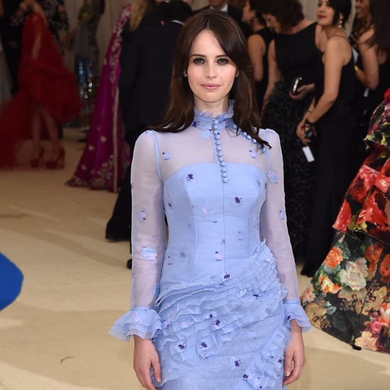 Felicity Jones's Erdem Dress at the Met Gala 2017