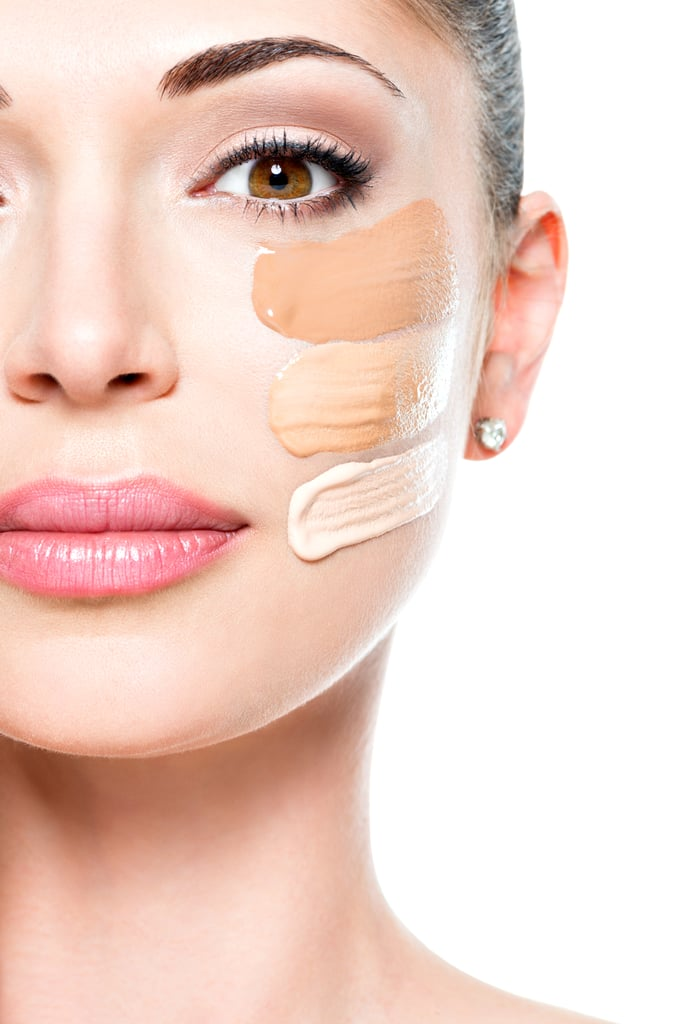 Applying the wrong shade of concealer.