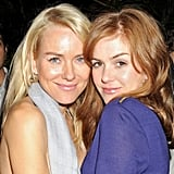 Naomi Watts and Isla Fisher at the Calvin Klein Party