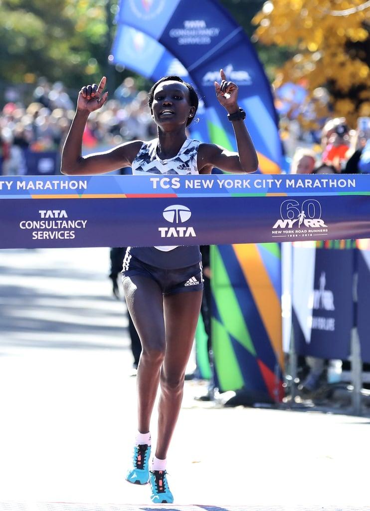 Winner of 2018 New York Marathon