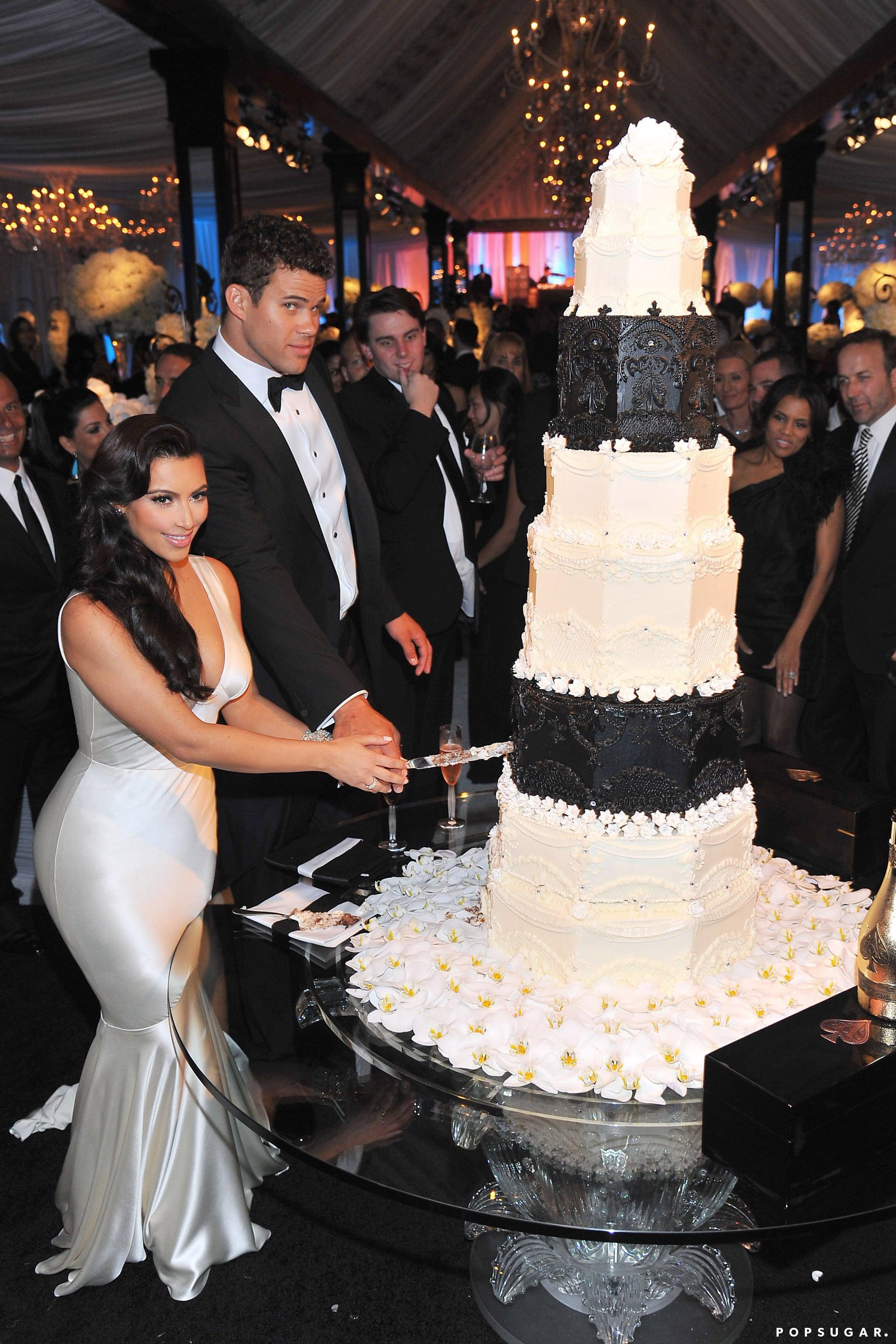 Kim Kardashian Wedding Pictures With Kris Humphries Popsugar Celebrity