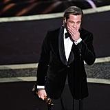 Brad Pitt at the 2020 Oscars