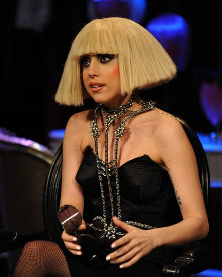 Lady Gaga visits Fuse