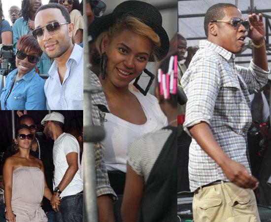 Pictures of Beyonce, Jay Z, Alicia Keys, Swizz Beats
