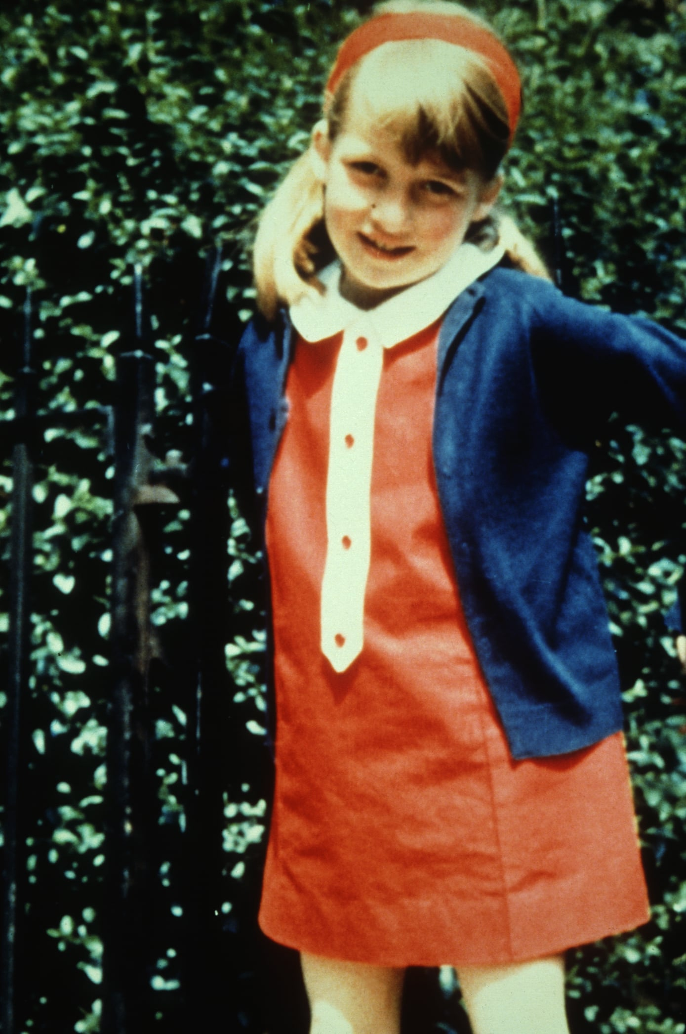 (Original Caption) Lady Diana As A Child. (Photo by © Hulton-Deutsch Collection/CORBIS/Corbis via Getty Images)