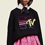 Collection(Runway) MTV x Marc Jacobs Long-Sleeve Crewneck Sweatshirt